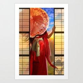 The Tea Maker's Daughter Art Print