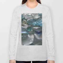 Ocean Hue Sea Glass Assortment Long Sleeve T-shirt
