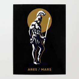 Ares / Mars Poster