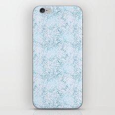 Blue Sparkle Confetti iPhone & iPod Skin