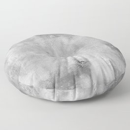 Simply Concrete Gray - Mix and Match with Simplicity of Life Floor Pillow