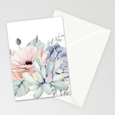 Pretty Succulents by Nature Magick Stationery Cards