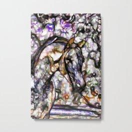 Horse on pasture Metal Print