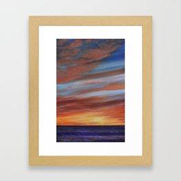 Copper Twilight (2) Framed Art Print