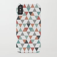 hexagon iPhone & iPod Cases featuring Hexagon by Pavel Saksin
