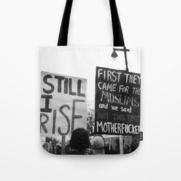 women's march philly Tote Bag