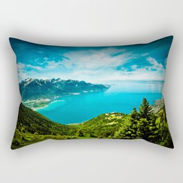 Lake Geneva Rectangular Pillow