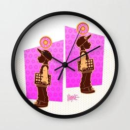 A Lil Dilla Wall Clock