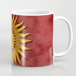 """""""Aztec Sun and pickled coral"""" Coffee Mug"""