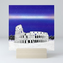 The Colosseum Mini Art Print