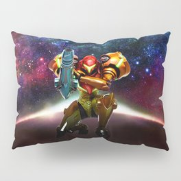 Metroid Samus Returns Pillow Sham