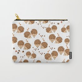 Hedgehogs in autumn Carry-All Pouch