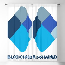 I am blockchained! Blackout Curtain