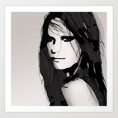 Face- Vogue Art Print