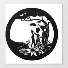 African women Canvas Print