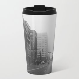 Woodward & John R...& Clifford - Detroit, MI Travel Mug