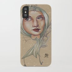 SNOWFLAKE QUEEN Slim Case iPhone X