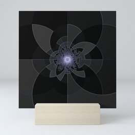 Tron Kaleidoscope Mini Art Print