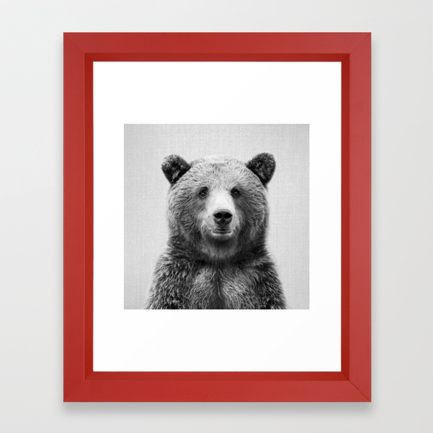 GRIZZLY BEAR WALL ART CANVAS PRINT PICTURE DESIGN VARIETY OF SIZES AVAILABLE