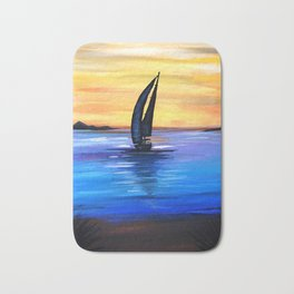 Sail Away Bath Mat