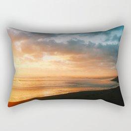 The last glow Rectangular Pillow