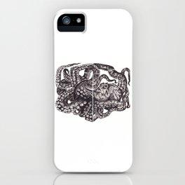 Octopus Invisble Box iPhone Case