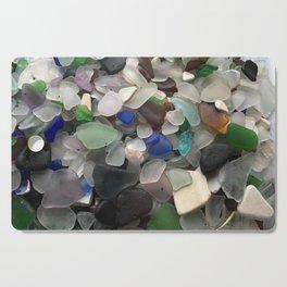 Sea Glass Assortment 1 Cutting Board