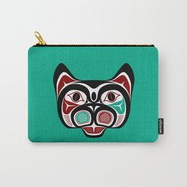 Northwest Pacific coast Haida Kitty Carry-All Pouch