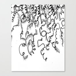 Drawing Six  Canvas Print