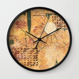 Golden Northtwest Wall Clock