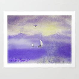 Courage And Fortitude Art Print
