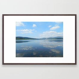 Loch Clatteringshaws SW Scotland Framed Art Print