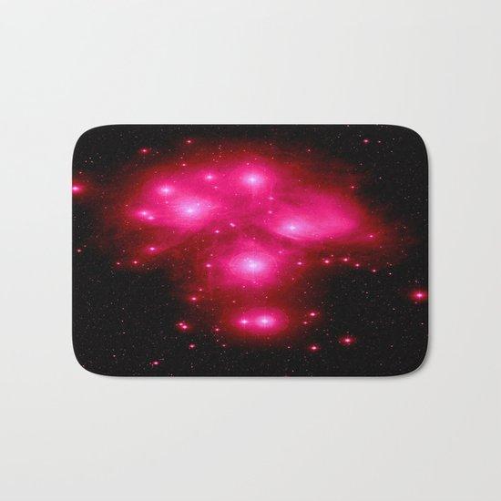 constellation : 7 Sisters of Pleiades Bath Mat