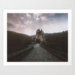 Burg Eltz Art Print