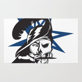 2017 Tampa Sports Logo Buccaneers Rays Lightning Rug