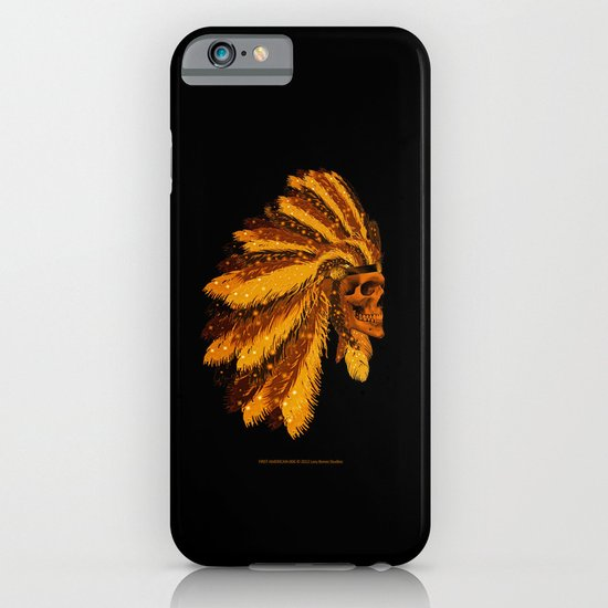 FIRST AMERICAN-006 iPhone & iPod Case