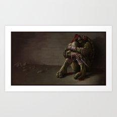 RAPHAEL goodbye, my brothers... Art Print