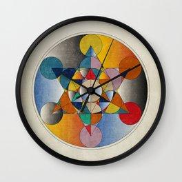 Mandala colors Wall Clock