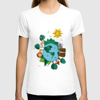 planet T-shirts featuring Planet by Design SNS - Sinais Velasco