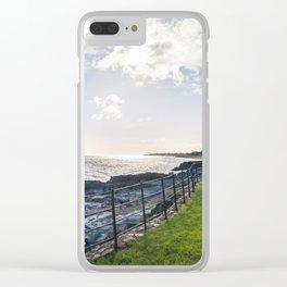 Irish landscape Clear iPhone Case