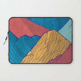 The Crosshatch Sky Laptop Sleeve