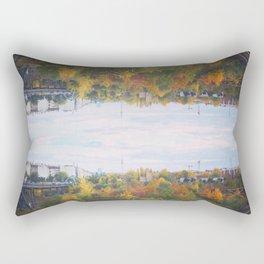 Berlin upside down Rectangular Pillow