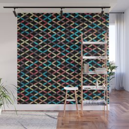 Colorful Geometric Pattern #03 Wall Mural