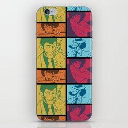 Lupin III Jazz Record iPhone Skin