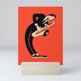 The Saxophonist Mini Art Print