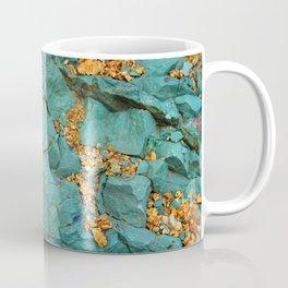Gold and Copper Coffee Mug