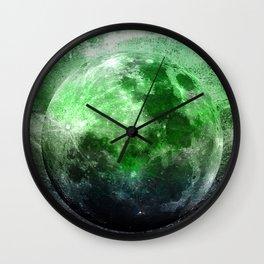 MOON under MAGIC SKY II-1 Wall Clock