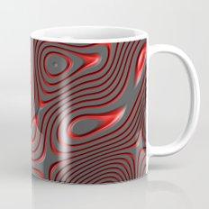 Organic Abstract 01 RED Mug