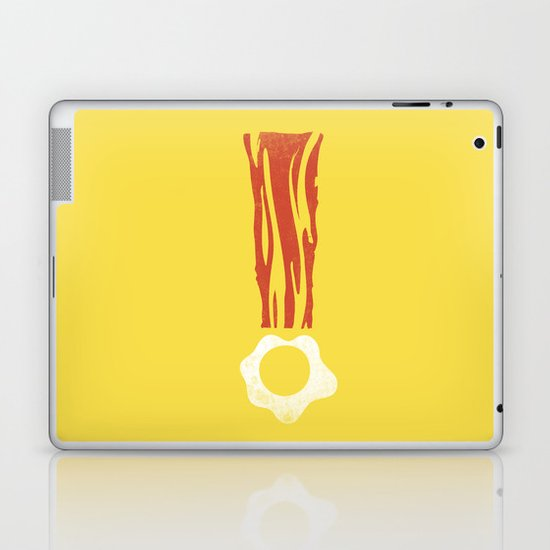 Bacon & Eggsclaimation point Laptop & iPad Skin