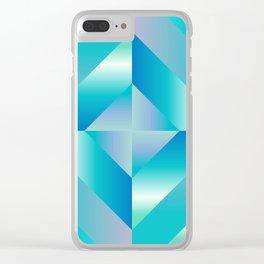 sky light Clear iPhone Case